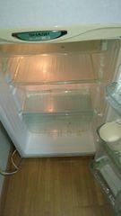 シャープ二段式冷凍冷蔵庫