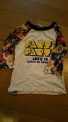 party party Tシャツ  ラグラン
