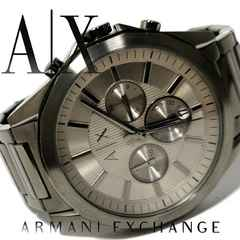 極美品 アルマーニエクスチェンジ/AX【クロノグラフ】腕時計
