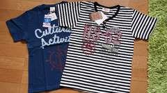 新品未使用タグ付!Tシャツ2枚セット☆150