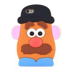 Mr ポテトヘッド iphone7 8  シリコン ケース カバー