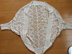 JURIANOJURRIE かぎ編みカーデ 美品