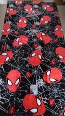 スパイダーマン!新品!バスタオル!シャーリング加工!