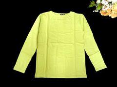 新品 cony island 1枚で着られる ロンT 長袖 Tシャツ 黄