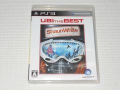 PS3★ショーン・ホワイト スノーボード UBI THE BEST