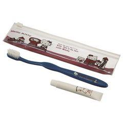 『キティ&マイメロ』歯ブラシ&歯磨き粉x2セット1296円が