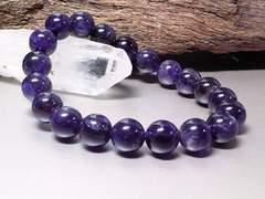 天然アメジスト10ミリ数珠§紫水晶