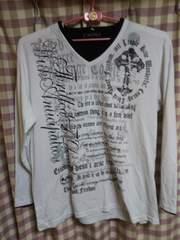 ★Time Step オシャレデザイン クロス 十字架 ラメ キラキラ Tシャツ サイズ4L 大きめ