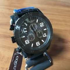 新品☆コグ COGU 流通限定モデル クロノ クォーツ 腕時計