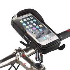自転車 スマホホルダー バイク スマホスタンド ブラック