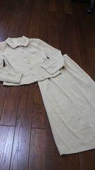 【即決】M・T!◆専門店◆春・秋クリームロングスカートsuit
