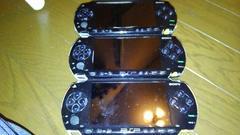 PSP1000 液晶割れ ジャンク 3台セット