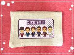 EXILE THESECOND☆ポケットティッシュカバー�A