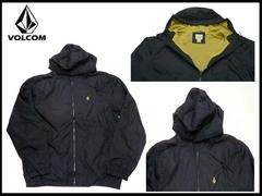 新品 ボルコム ナイロン ジャケット黒 サーフ BL5 XXL