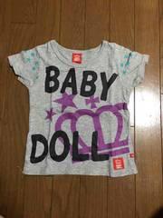100スタ 100�p BABYDOLL 半袖Tシャツ 2
