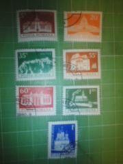 ルーマニア古城切手7種類♪