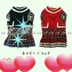 ◆新品◆チェックワンピース◆3号◆◇レッド◇¥4280