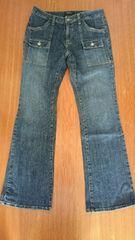 W70 ダメージ ブーツカットジーンズ 美品