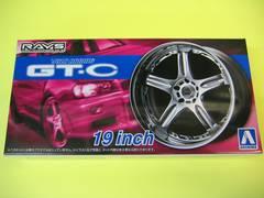 アオシマ 1/24 ザ・チューンドパーツ No.70 ボルクレーシング GT-C 19インチ 新品