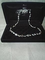 ケシ真珠ネックレス