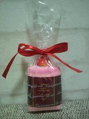 新品未使用ミニタオル(ピンク)ちょっとしたプレゼントにも。切手可。