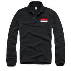 カリホリ『Cali Holi』170103/長袖ポロシャツ/ブラック/XL