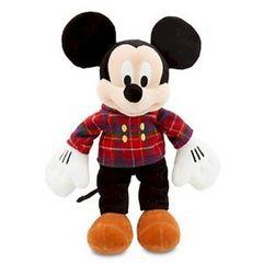 クリスマスバージョン ミッキーマウス ぬいぐるみ 送料込