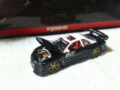 マッスルマシーン 1/64 スカイラインR34 ニスモ テストカー
