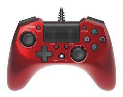 新品即決 ホリパッドFPSプラス for PS4 レッド コントローラー 送料無料