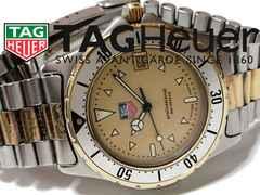 超希少★タグ・ホイヤー Professional【スイス】メンズ腕時計