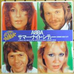 ABBAアバ「サマー・ナイト・シティSUMMER NIGHT CITY」アナログ盤