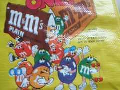 未使用m&m'sエコバッグアメリカ雑貨M&M's