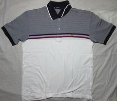 ゴールデンベア ポロシャツ (鹿の子) ボーダー 133