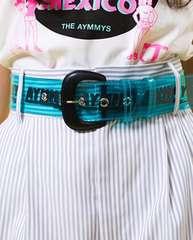 Aymmy in the batty girls☆SKATING クリアベルト