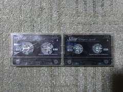 録音使用済カセットテープ AXIA アクシア slim PS-�Us 54 70 ハイポジション