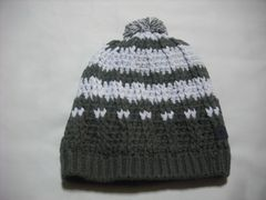 mb499 男 RIP CURL リップカール ボンボン付き ニット帽