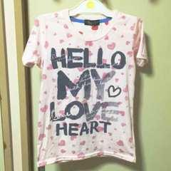 ハート柄Tシャツ★