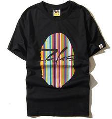 ape 半袖Tシャツ 黒 XL エイプ  a bathing ape color