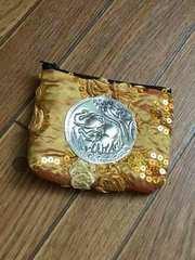 タイ土産 ゾウ柄 ミニポーチ
