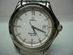 オメガ  美品  シーマスター120  メンズ  時計