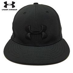 アンダーアーマー 3D刺繍 ストレートキャップ 帽子