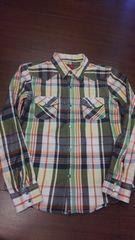 Levi'sリーバイス/マルチカラーチェックネルシャツ/ウエスタン