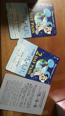 ディズニー リゾートライン 切符 パスポート使用済み