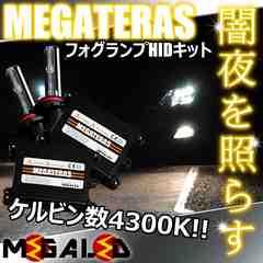 Mオク】アコードワゴンCM1/2/3系/フォグランプHIDキット/H11/4300K