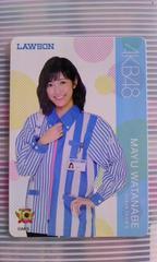 カルビーAKB48チップス渡辺麻友ステッカー