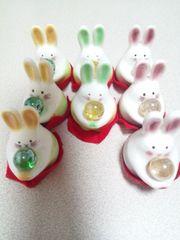 新品 うさぎの置物 ウサギの置物 8点まとめ売り