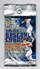 BBM2004 ベースボールカード 未開封1パック