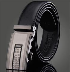 オートロック式 本革高級ベルト 110cm〜125cm 長さ選択 55
