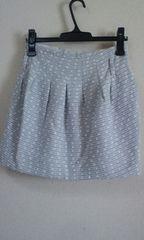 KariAngポケット付ツイードスカート