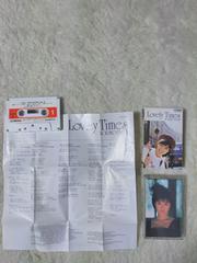 カセットテープ 酒井法子 ラブリータイムズ 予約特典ポスター '88/8 日本製